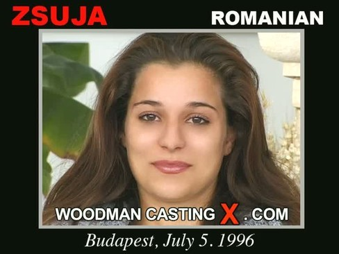Zsuja - `Zsuja casting` - by Pierre Woodman for WOODMANCASTINGX