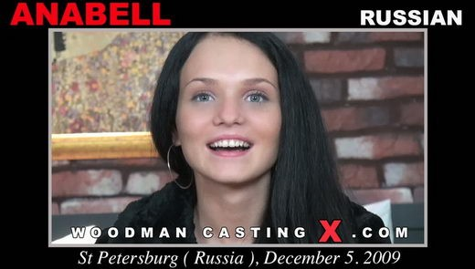 Anabell - `Anabell casting` - by Pierre Woodman for WOODMANCASTINGX