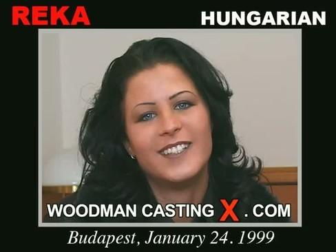Reka - `Reka casting` - by Pierre Woodman for WOODMANCASTINGX