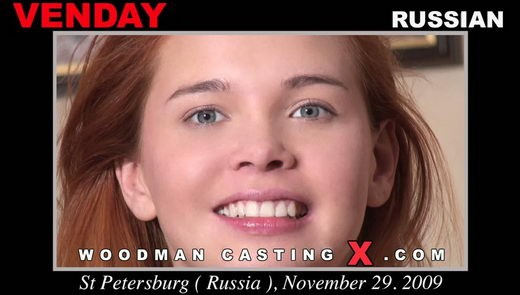 Venday - `Venday casting` - by Pierre Woodman for WOODMANCASTINGX