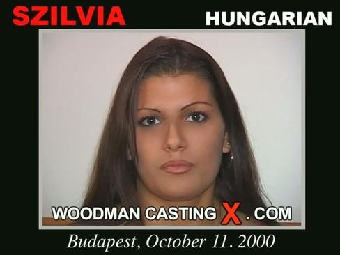Szilvia - `Szilvia casting` - by Pierre Woodman for WOODMANCASTINGX