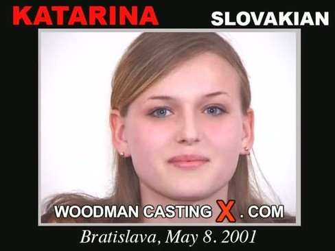 Katarina - `Katarina casting` - by Pierre Woodman for WOODMANCASTINGX