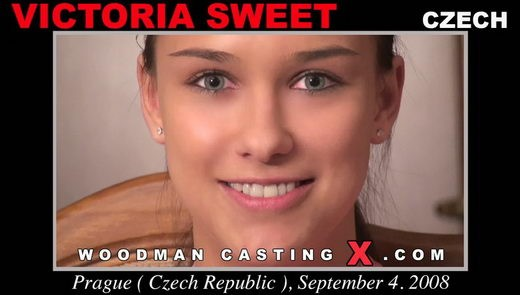 Victoria Sweet - `Victoria Sweet casting` - by Pierre Woodman for WOODMANCASTINGX
