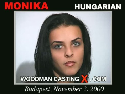 Monika - `Monika casting` - by Pierre Woodman for WOODMANCASTINGX