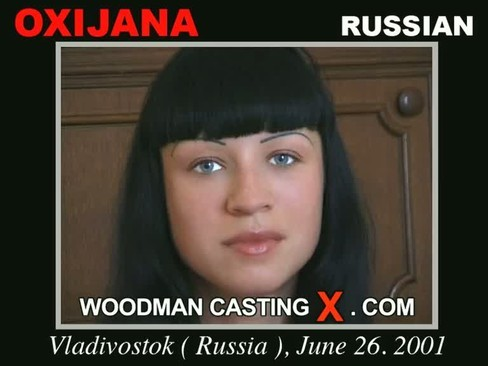 Oxijana - `Oxijana casting` - by Pierre Woodman for WOODMANCASTINGX