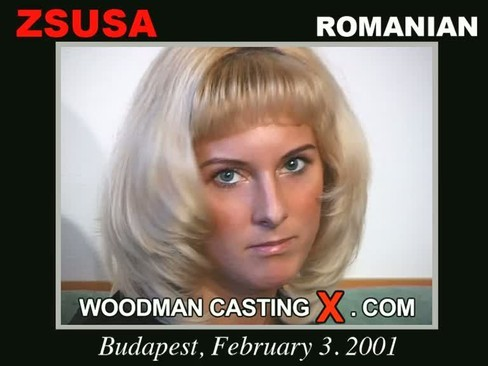 Zsuza - `Zsuza casting` - by Pierre Woodman for WOODMANCASTINGX