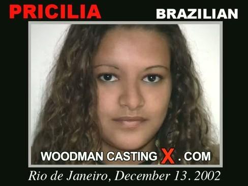 Pricilia - `Pricilia casting` - by Pierre Woodman for WOODMANCASTINGX