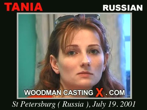 Tania - `Tania casting` - by Pierre Woodman for WOODMANCASTINGX