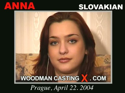 Anna - `Anna casting` - by Pierre Woodman for WOODMANCASTINGX