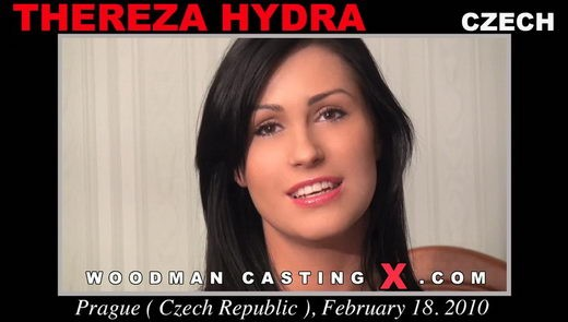 Thereza Hydra - `Thereza Hydra casting` - by Pierre Woodman for WOODMANCASTINGX
