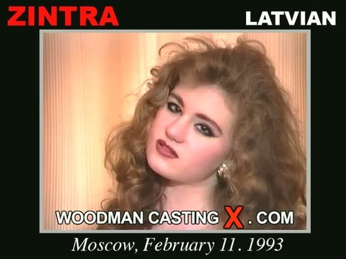 Zintra - `Zintra casting` - by Pierre Woodman for WOODMANCASTINGX