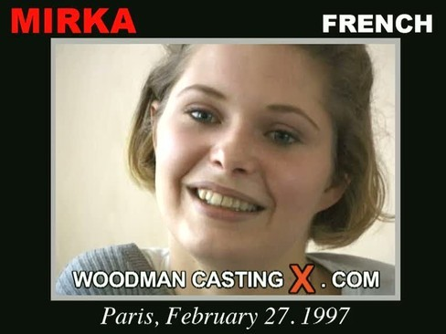 Mirka - `Mirka casting` - by Pierre Woodman for WOODMANCASTINGX