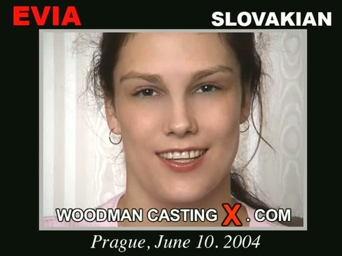 Evia - `Evia casting` - by Pierre Woodman for WOODMANCASTINGX