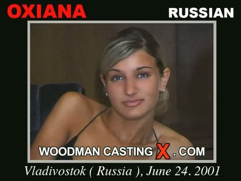 Oxiana - `Oxiana casting` - by Pierre Woodman for WOODMANCASTINGX
