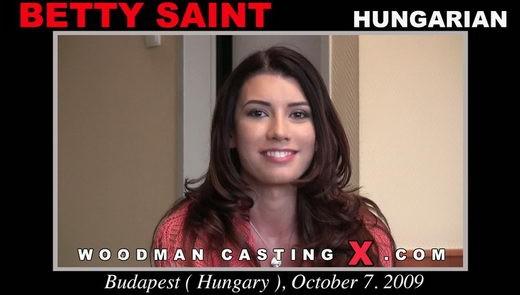 Betty Saint - `Betty Saint casting` - by Pierre Woodman for WOODMANCASTINGX