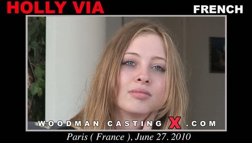 Holly Viya - `Holly Viya casting` - by Pierre Woodman for WOODMANCASTINGX