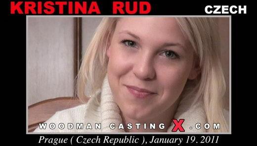 Kristina Rud - `Kristina Rud casting` - by Pierre Woodman for WOODMANCASTINGX