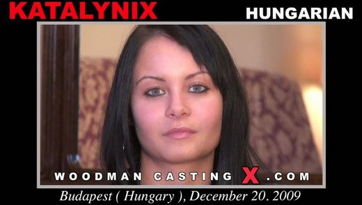 Katalynix - `Katalynix casting` - by Pierre Woodman for WOODMANCASTINGX
