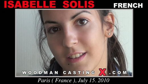 Isabelle Solis - `Isabelle Solis casting` - by Pierre Woodman for WOODMANCASTINGX