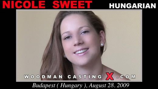 Nicole Sweet - `Nicole Sweet casting` - by Pierre Woodman for WOODMANCASTINGX