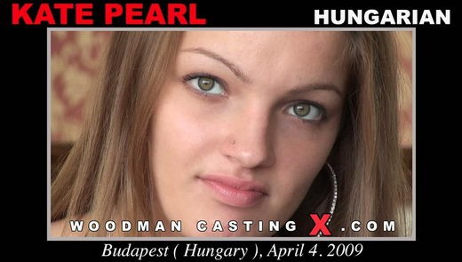 Kate Pearl - `Kate Pearl casting` - by Pierre Woodman for WOODMANCASTINGX