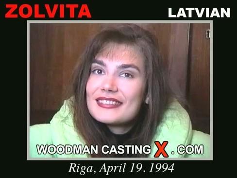 Zolvita - `Zolvita casting` - by Pierre Woodman for WOODMANCASTINGX