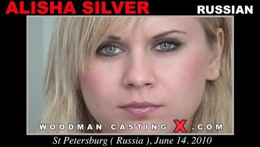 Alisha Silver - `Alisha Silver casting` - by Pierre Woodman for WOODMANCASTINGX