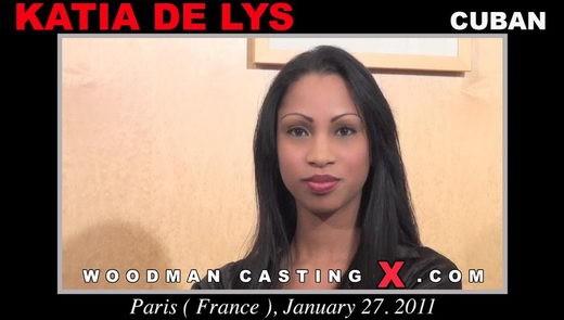 Katia De Lys - `Katia De Lys casting` - by Pierre Woodman for WOODMANCASTINGX