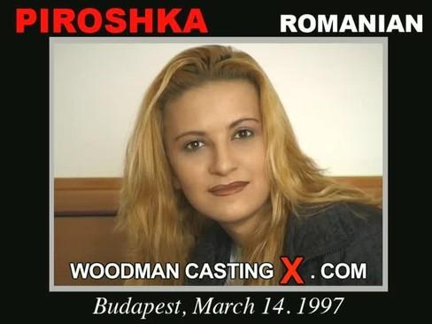 Piroshka - `Piroshka casting` - by Pierre Woodman for WOODMANCASTINGX