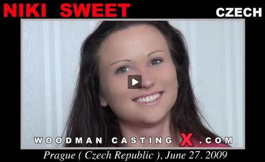 Niki Sweet - `Niki Sweet casting` - by Pierre Woodman for WOODMANCASTINGX