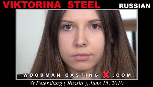 Viktorina Steel - `Viktorina Steel casting` - by Pierre Woodman for WOODMANCASTINGX