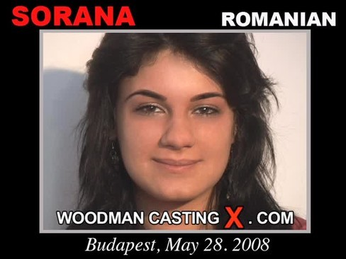 Sorana - `Sorana casting` - by Pierre Woodman for WOODMANCASTINGX