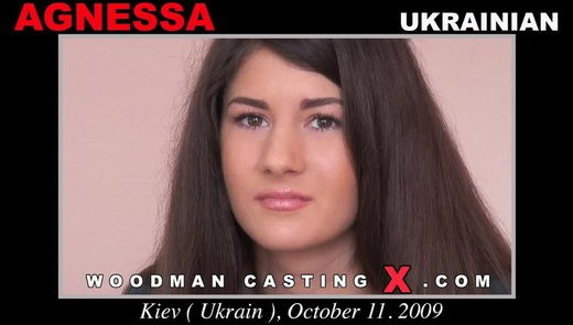 Agnessa - `Agnessa casting` - by Pierre Woodman for WOODMANCASTINGX