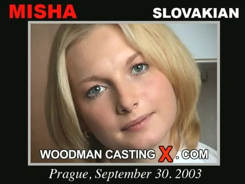 Misha - `Misha casting` - by Pierre Woodman for WOODMANCASTINGX