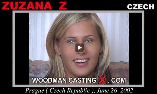 Zuzana Z - `Zuzana Z casting` - by Pierre Woodman for WOODMANCASTINGX