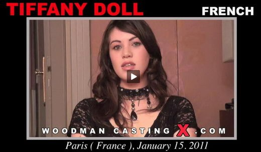 Tiffany Doll - `Tiffany Doll casting` - by Pierre Woodman for WOODMANCASTINGX