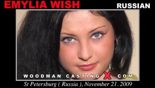 Emylia Wish - `Emylia Wish casting` - by Pierre Woodman for WOODMANCASTINGX