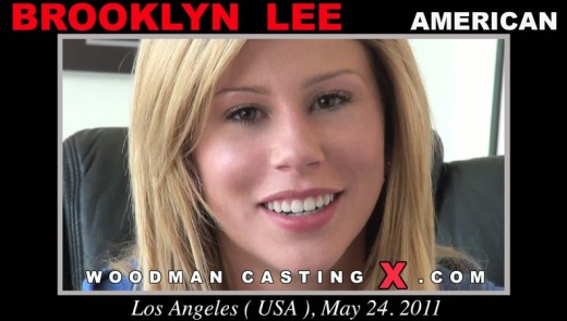 Brooklyn Lee - `Brooklyn Lee casting` - by Pierre Woodman for WOODMANCASTINGX