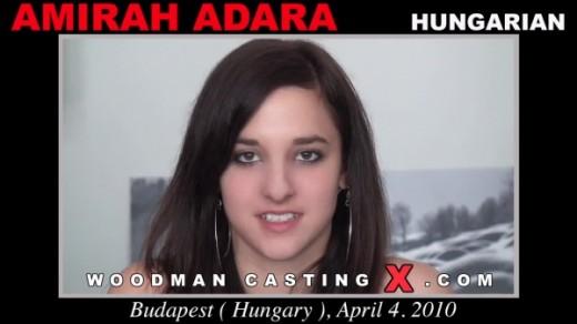 Amirah Adara - `Amirah Adara casting` - by Pierre Woodman for WOODMANCASTINGX