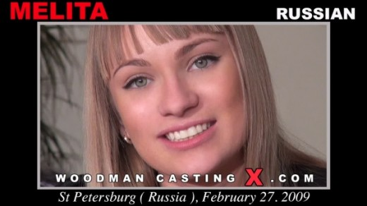 Melita - `Melita casting` - by Pierre Woodman for WOODMANCASTINGX