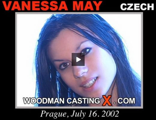Vanessa May - `Vanessa May casting` - by Pierre Woodman for WOODMANCASTINGX