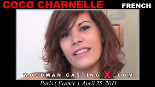Coco Charnelle - `Coco Charnelle casting` - by Pierre Woodman for WOODMANCASTINGX