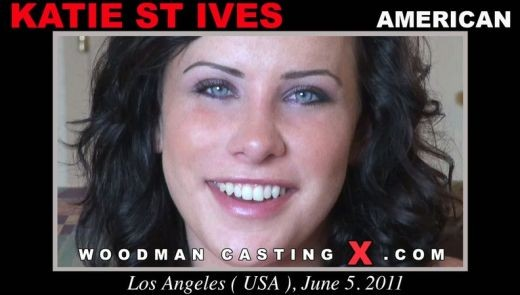 Katie St Ives - `Katie St Ives casting` - by Pierre Woodman for WOODMANCASTINGX