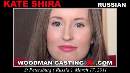 Kate Shira - `Kate Shira casting` - by Pierre Woodman for WOODMANCASTINGX