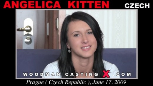 Angelica Kitten - `Angelica Kitten casting` - by Pierre Woodman for WOODMANCASTINGX