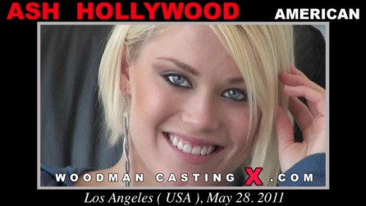 Ash Hollywood - `Ash Hollywood casting` - by Pierre Woodman for WOODMANCASTINGX