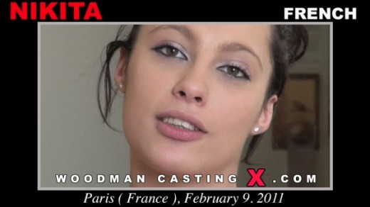 Nikita Bellucci - `Nikita Bellucci casting` - by Pierre Woodman for WOODMANCASTINGX