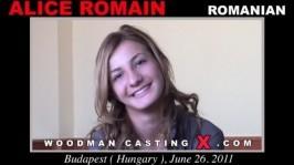 Alice Romain  from WOODMANCASTINGX