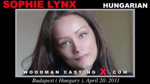 Sophie Lynx - `Sophie Lynx casting` - by Pierre Woodman for WOODMANCASTINGX