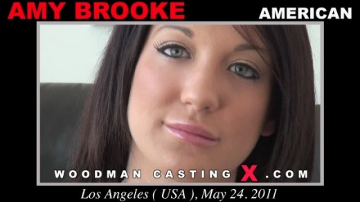 Amy Brooke - `Amy Brooke casting` - by Pierre Woodman for WOODMANCASTINGX